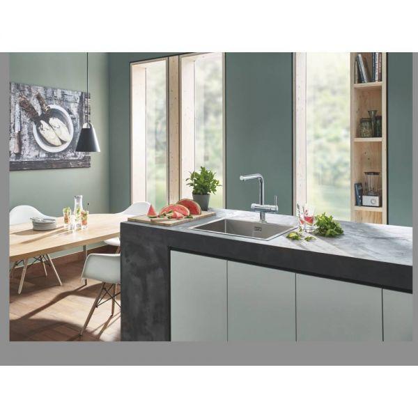 Смеситель для кухни GROHE Blue Pure Minta с функцией фильтрации, хром (119706)