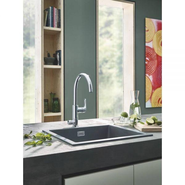 Смеситель для кухни GROHE Blue Pure Eurosmart с функцией фильтрации, хром (119708)