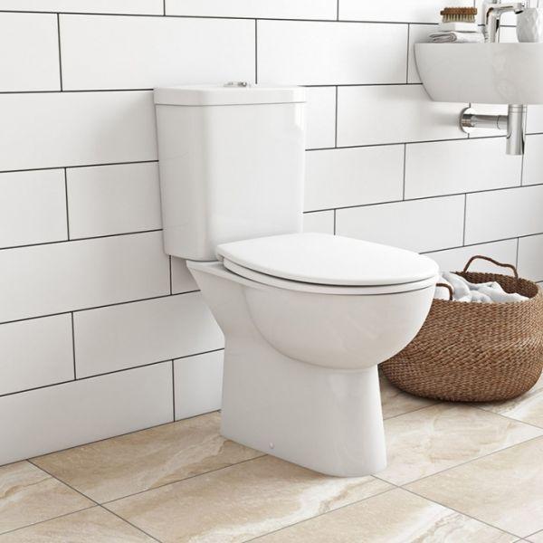 GROHE Bau Ceramic унитаз с бачком и сиденьем, альпин-белый (39496000)