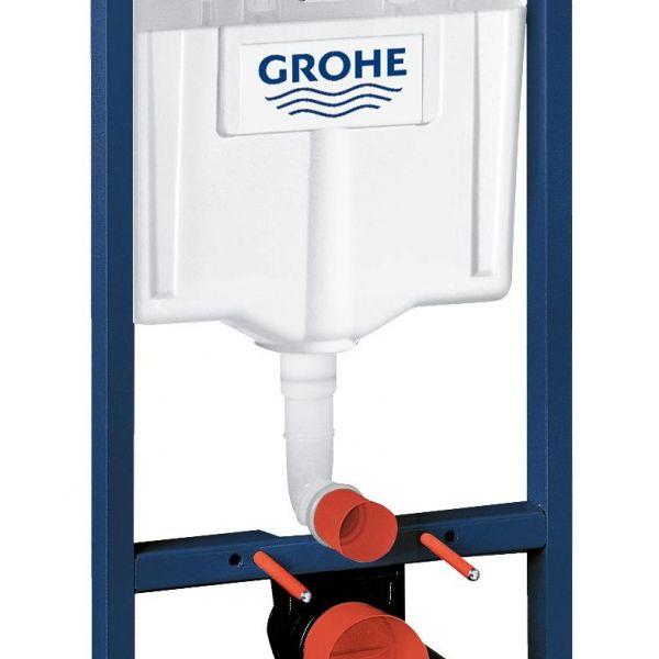 Система инсталляции для унитаза GROHE Rapid SL с панелью смыва Skate Air (3 режима), комплект 3-в-1 (1,13 м)