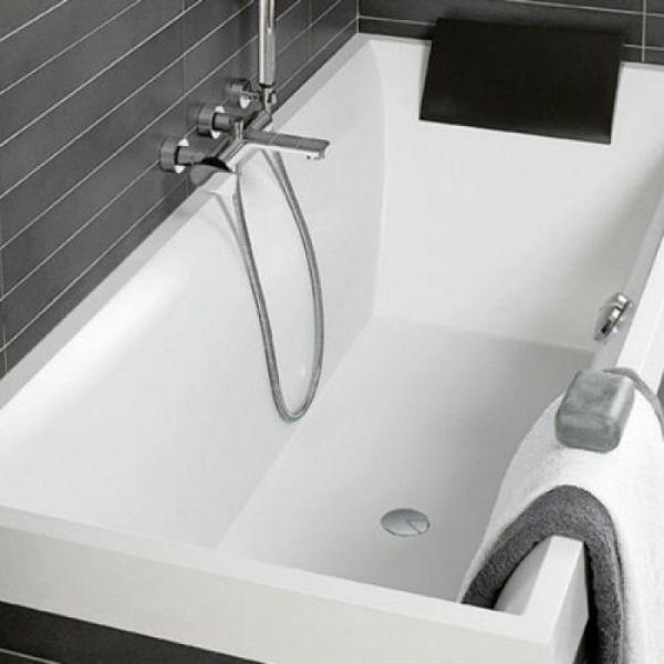SQUARO 180х80 Villeroy & Boch Ванна Quaryl®