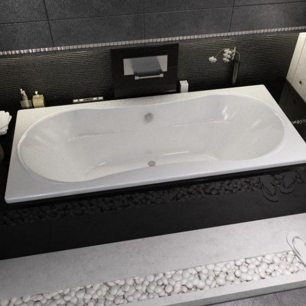 Ванна акриловая Supreme 180/190x80/90