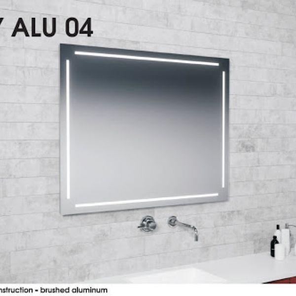 Зеркало EASY ALU 04 MCJ пр_120х80 см